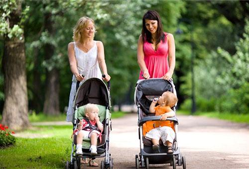 Уход за детской коляской