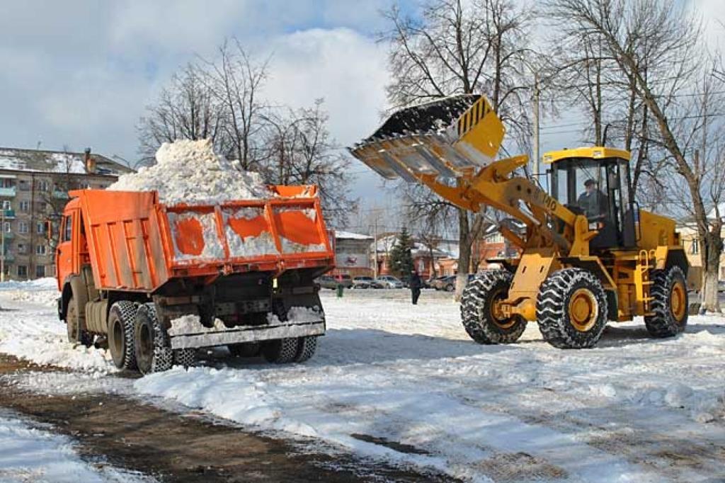 Вывоз и утилизация снега по выгодной цене